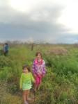 Maja and Zuzu on the Farm with Rainbow Poland 2010 by Mia dalby-Ball