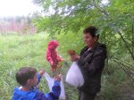 Lessons from Zuzu's Bubcha re: what Mushrooms are good (Dobra) Poland 2010 by Mia Dalby-Ball