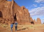 Monument Valley with Maja and Kade photo by Mia Dalby-Ball